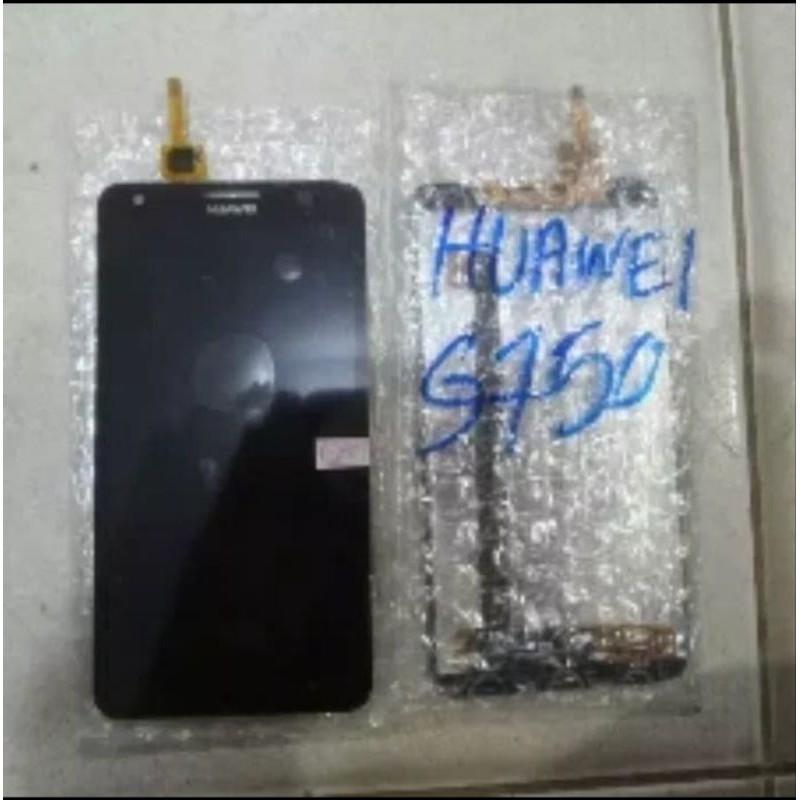 LCD+Touchscreen Huawei Honor 3X/G750 hitam