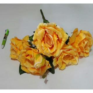 gold iron rose / dekorasi bunga mawar emas besi | shopee