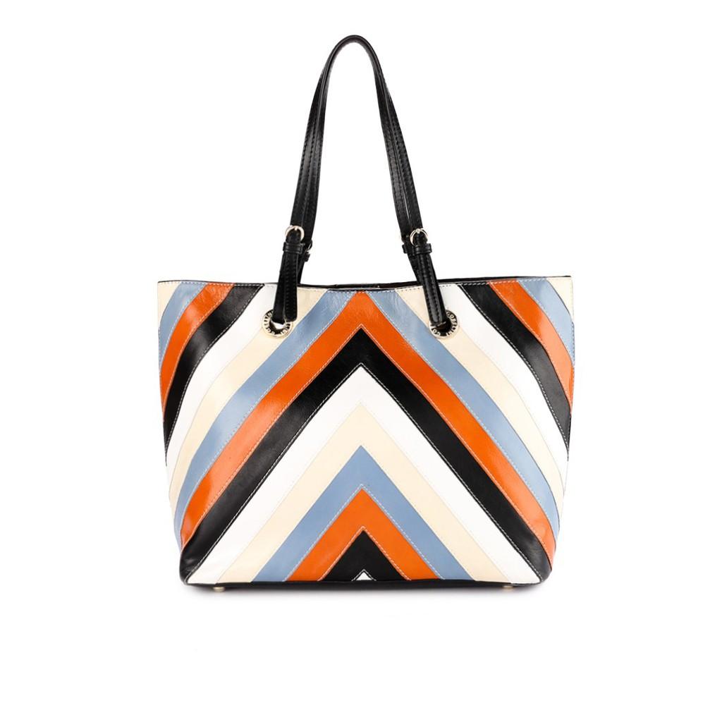 Gobelini Center Stripe Body Bag Shopee Indonesia Goni Travel Mogano