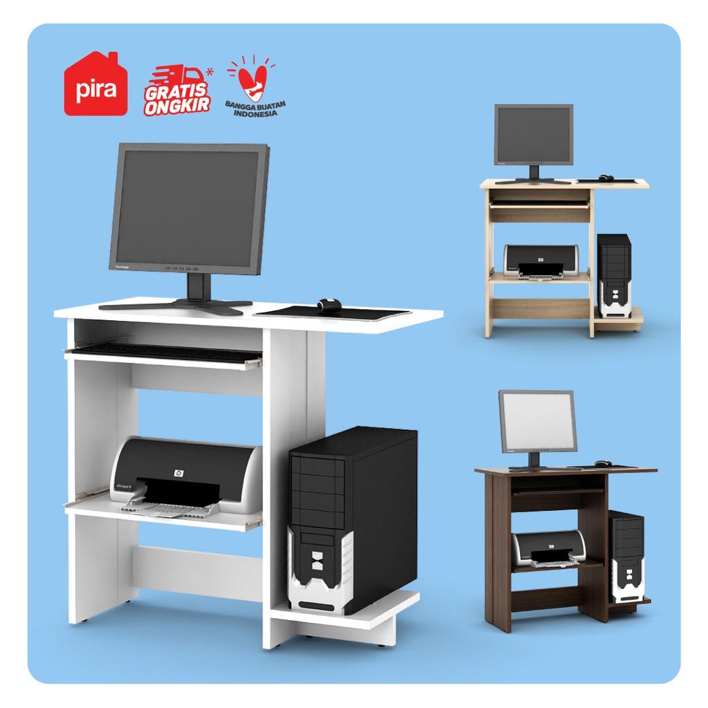 Pira Metropolis Dc 18 K Meja Kerja Meja Belajar Meja Komputer Shopee Indonesia Meja komputer minimalis modern