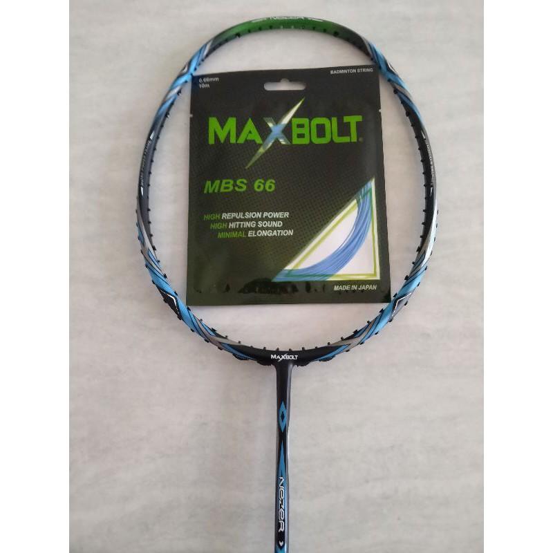 Raket maxbolt nezer x 19 black blue ORIGINAL 100%
