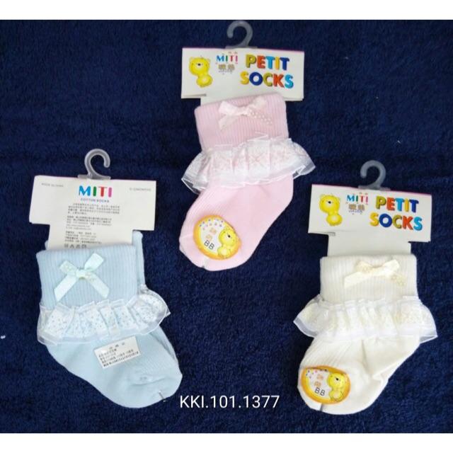 Kaos Kaki Bayi Cewek 0 4m Halus Lucu Kaos Kaki Bayi Perempuan