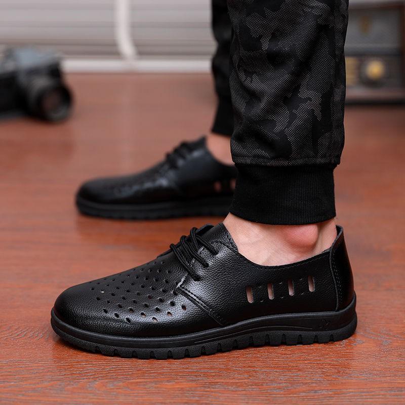 Sepatu Formal Casual Single Old Dad Anti Air Bahan Kulit ...