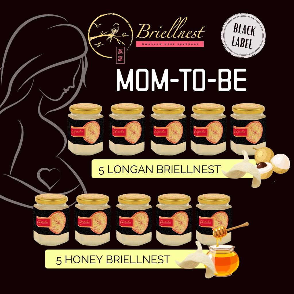 BRIELLNEST MOM-TO-BE (PREGNANCY) Minuman Sarang Burung Walet (10 x 200ml)