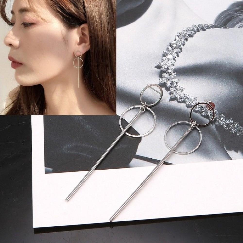 Anting Korea Daun Asimetris Asymmetric Leaf Clip Dangle Earring Beauty   Shopee Indonesia