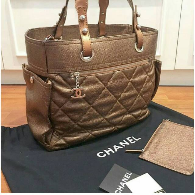 Jual Tas Chanel Biaritz GM Original Second Preloved Branded Bekas Fashion  Wanita Murah Bagus  b734954860