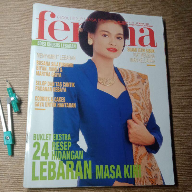 Majalah Femina Edisi 24 Resep Hidangan Lebaran Masa Kini Shopee Indonesia