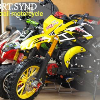 PROMO MOTOR MINI TRAIL MTB MT2 50CC MESIN 2 TAK TERBARU
