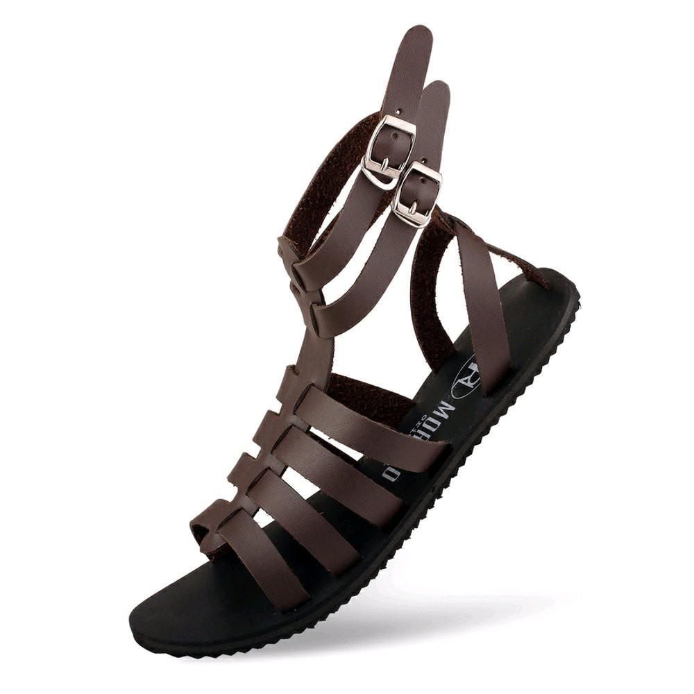 OBEY- Sandal Original Morello Spartan Black Casual santai Fashion Gladiator Fashionable Pria Wanita   Shopee Indonesia