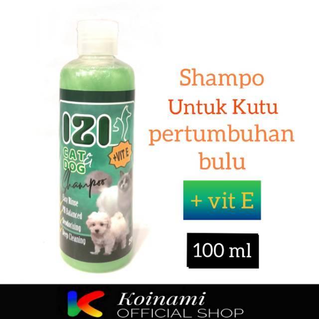 IZI SHAMPO + VITAMIN E 100 ML / SHAMPO KUCING ANJING / TALI MAS-1