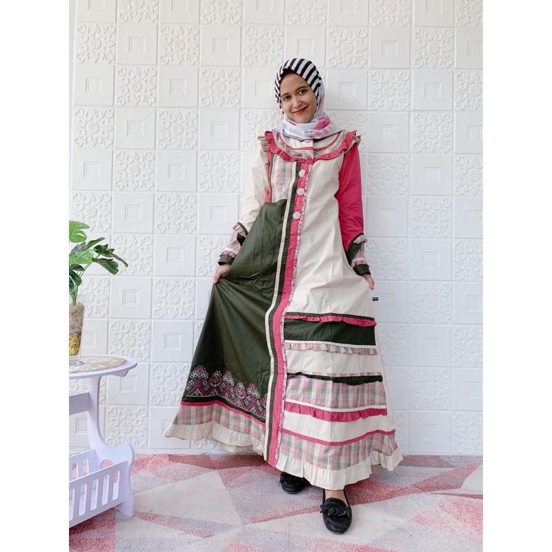 New Collection Gamis Sabrina Terbaru Kode Kpr Shopee Indonesia