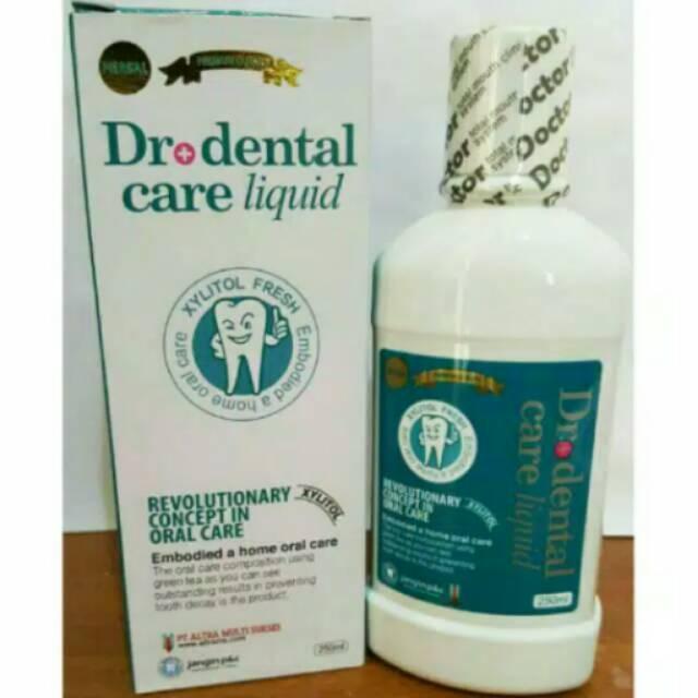 Dr+ Dental Care Liquid Cairan Pembersih Mulut   Obat Kumur Karang Gigi  Original  1e6fbf7fc6