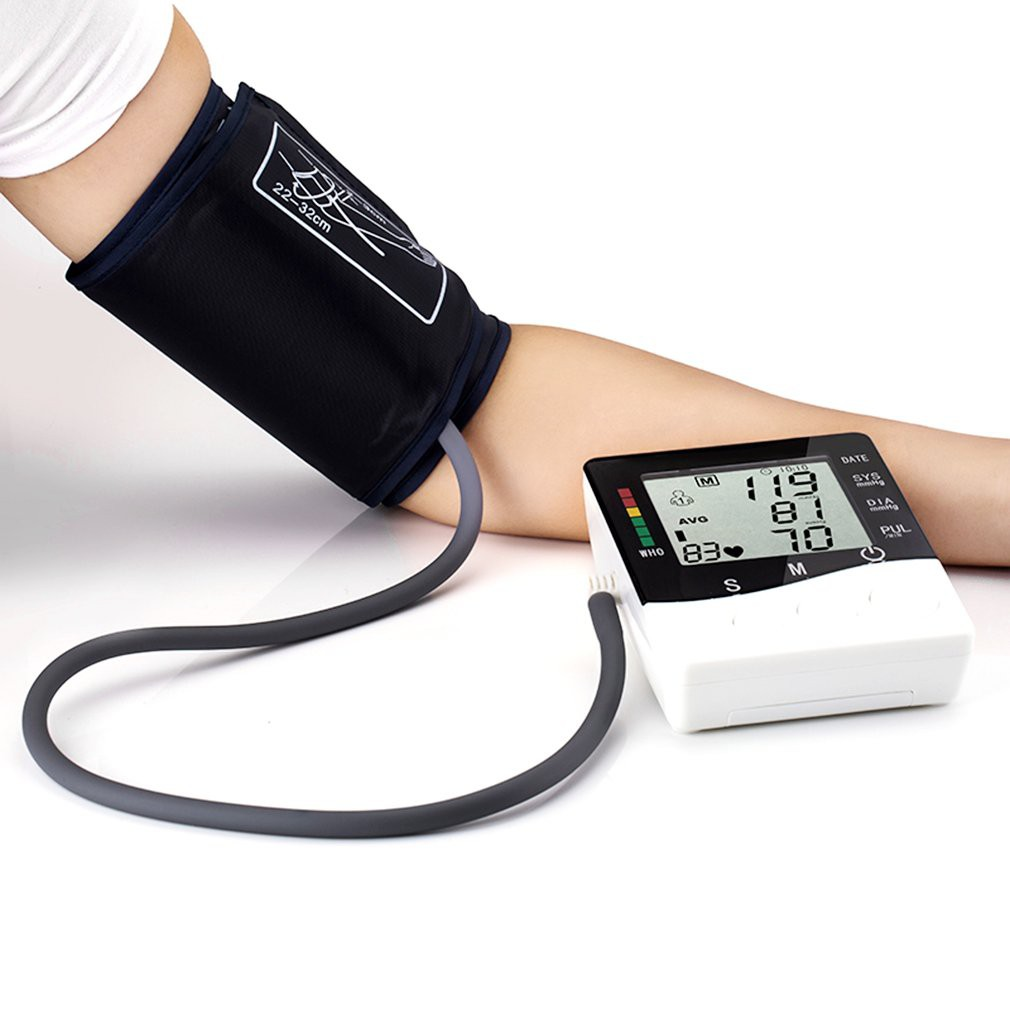 Termurahtensimeter Digital Pengukur Tekanan Darah Bagian Lengan J 003 Tensimeter Blood Pressure Monitor Sphygmomanometer Dengan Shopee Indonesia