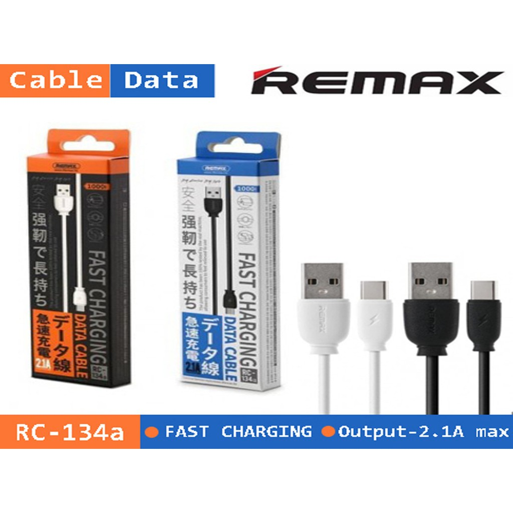 e319c2f6 KABEL DATA REMAX SUJI SERIES TYPE-C RC-134a Fast Charging