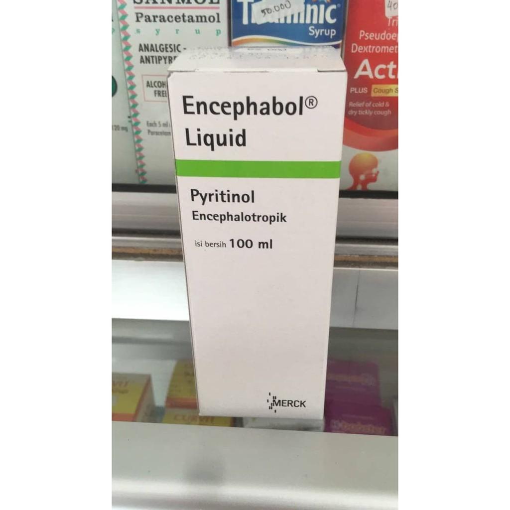 Encephabol Liquid 100ml Shopee Indonesia