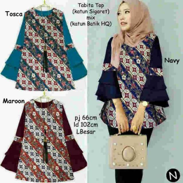 Baju Batik Wanita Tabita
