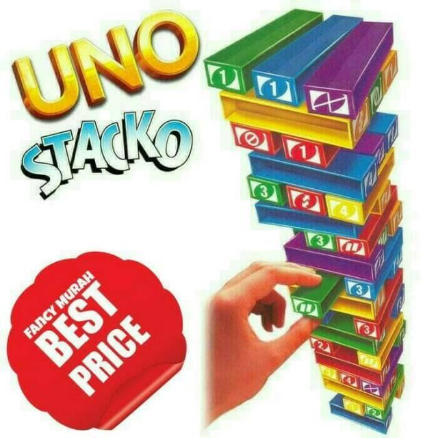 FLASH SALE  MSM FREE PACKING DUS MAINAN EDUKASI UNO STACKO IMPORT (SABLON)  BUKAN STIKER  cd8e113054