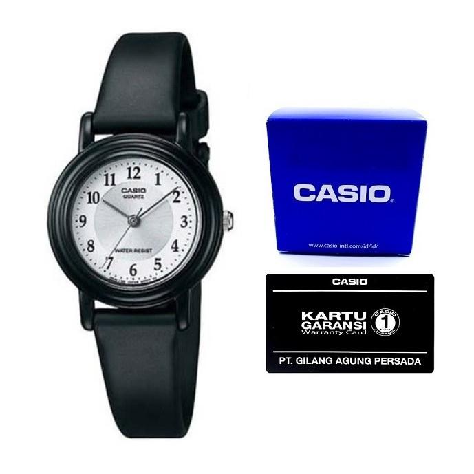 Casio Analog Watch Jam Tangan Wanita - Tali karet - Petite Size LQ-139AMV-1LDF - Hitam | Shopee Indonesia