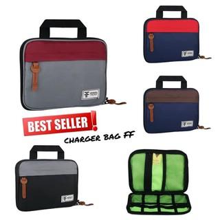 ORGANIZER BAG / TAS CARGER / CABLE BAG / TAS VAPE - CHRGER MARON | Shopee Indonesia