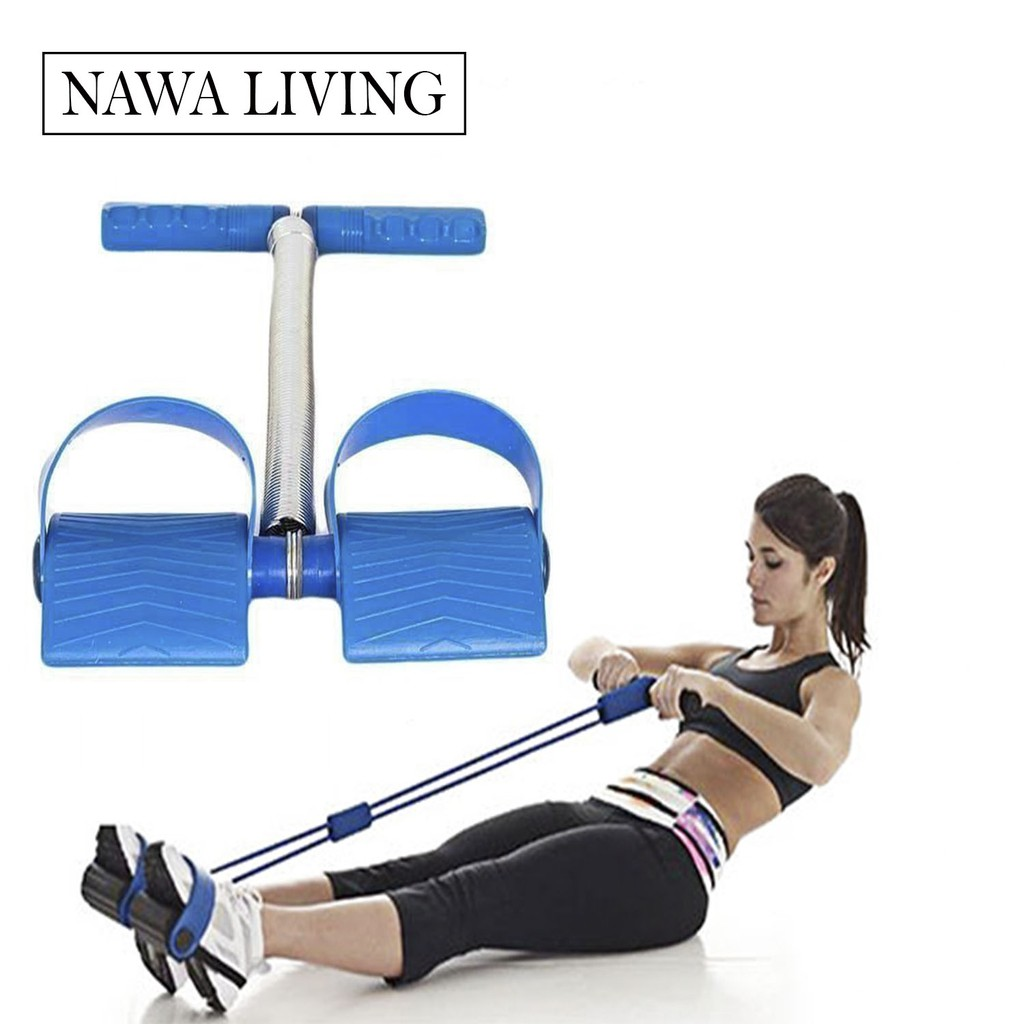 Paket Alat Fitness Rumahan Jogging Plate & Tummy Trimmer | Shopee Indonesia