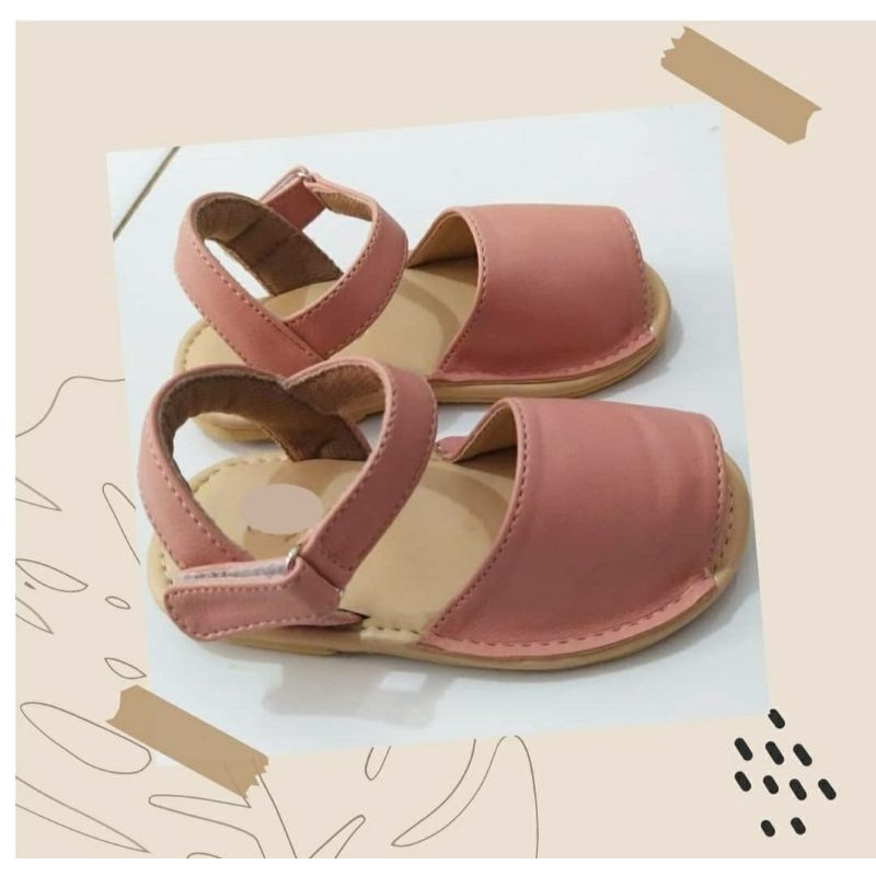 veny brose – sandal sloup pink – sandal anak – sandal anak perempuan