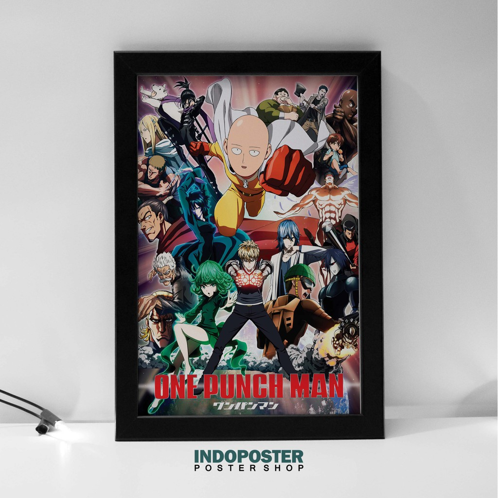 Poster Hiasan Dinding Anime One Punch Man Saitama A3 45x30cm Shopee Indonesia