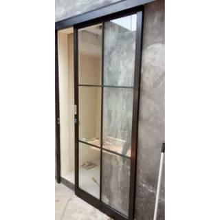 pintu sliding kaca | pintu geser aluminium | Pintu Geser ...