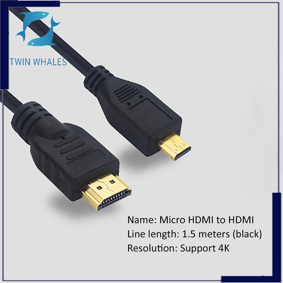 1.5 Meters Micro HDMI Auf HDMI Kabel Für Raspberry Pi 4 Modell B 5 M