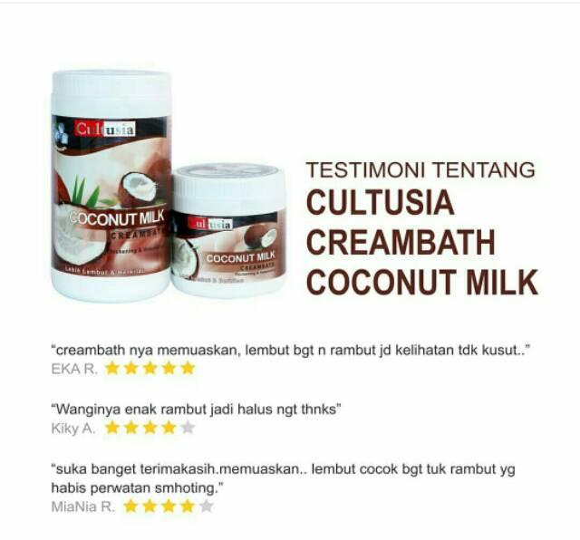 Creambath Cultusia 1000gram Shopee Indonesia