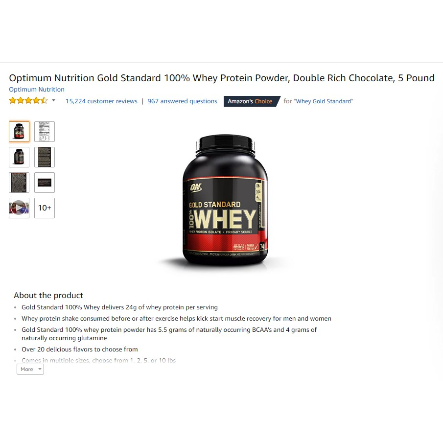 Amazon Best Seller Optimum Nutrition Gold Standard 100 Whey Protein 5 Lbs Wgs On 5lbs Lb 5lb Isolate Pound Usa Import Shopee Indonesia