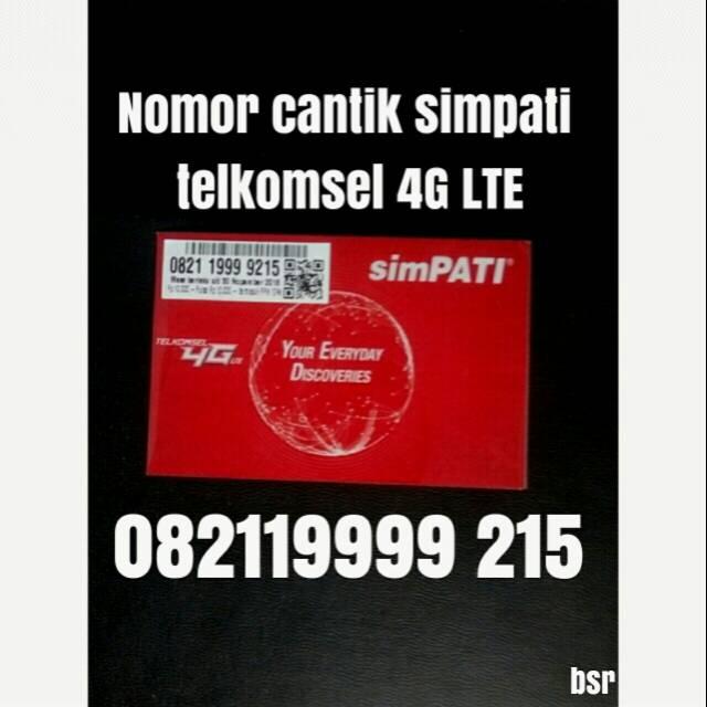 nomor cantik simpati telkomsel 4G LTE nomer kartu perdana 0539 | Shopee Indonesia