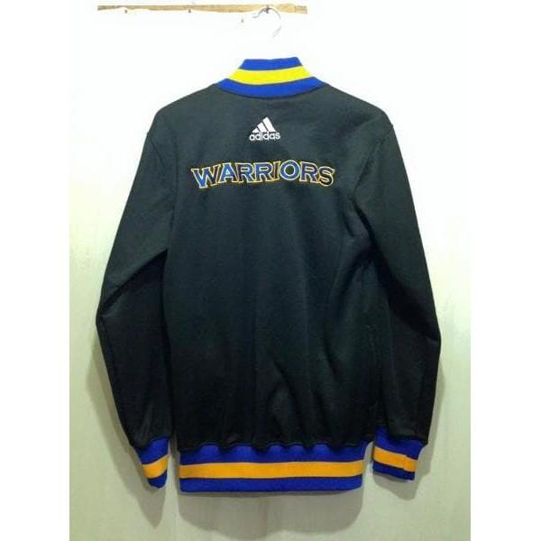 d138dafe9ebc Mudah Produk Baru Jaket Basket Nba Golden State Warriors Black Trendi