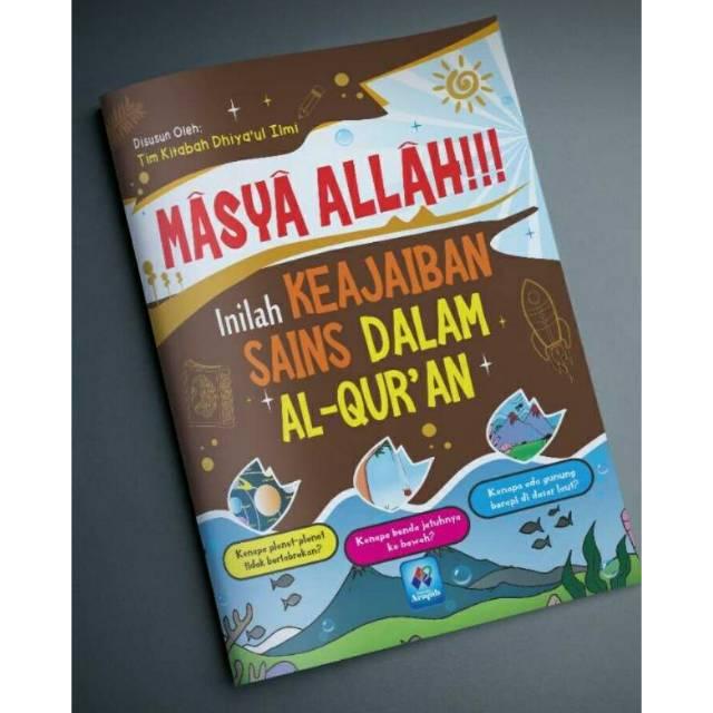 Masya Allah Inilah Keajaiban Sains Dalam Al Qur An Shopee Indonesia