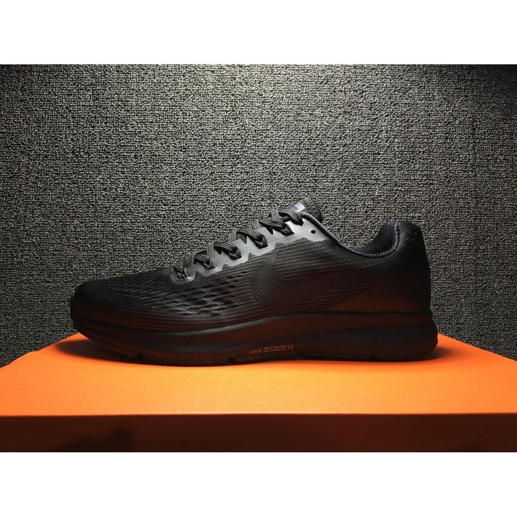 Sociable podar Preocupado  original NIKE AIR ZOOM pegasus 34 all black out sport shoe running for men  39-45 | Shopee Indonesia