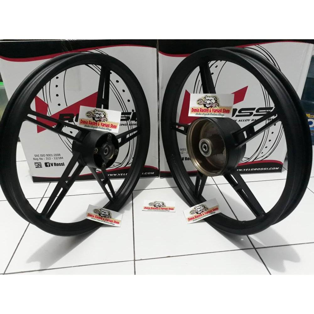 Velg Rossi Wm Uk 185 215 17 Berkualitas Shopee Indonesia Lebar 140 Ring 1set 2pcs