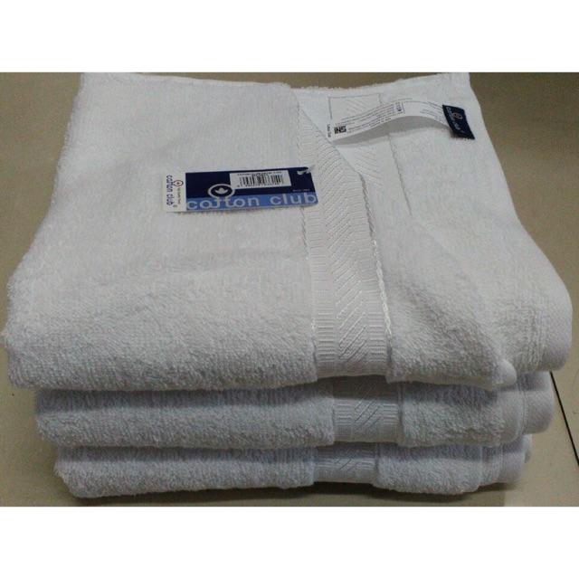 Handuk sport cotton club putih hotel 35x80