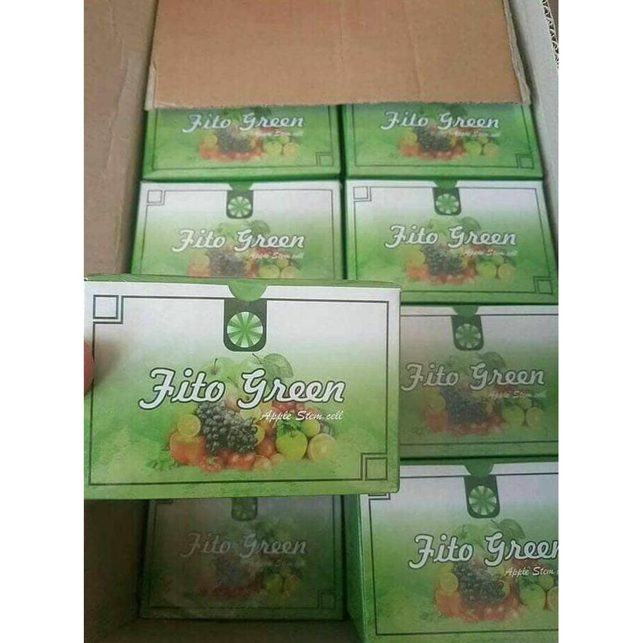 Fito Green Msi Original 2 Box Isi 24 Sacet Apple Stem Ecer Cell Murah Shopee Indonesia