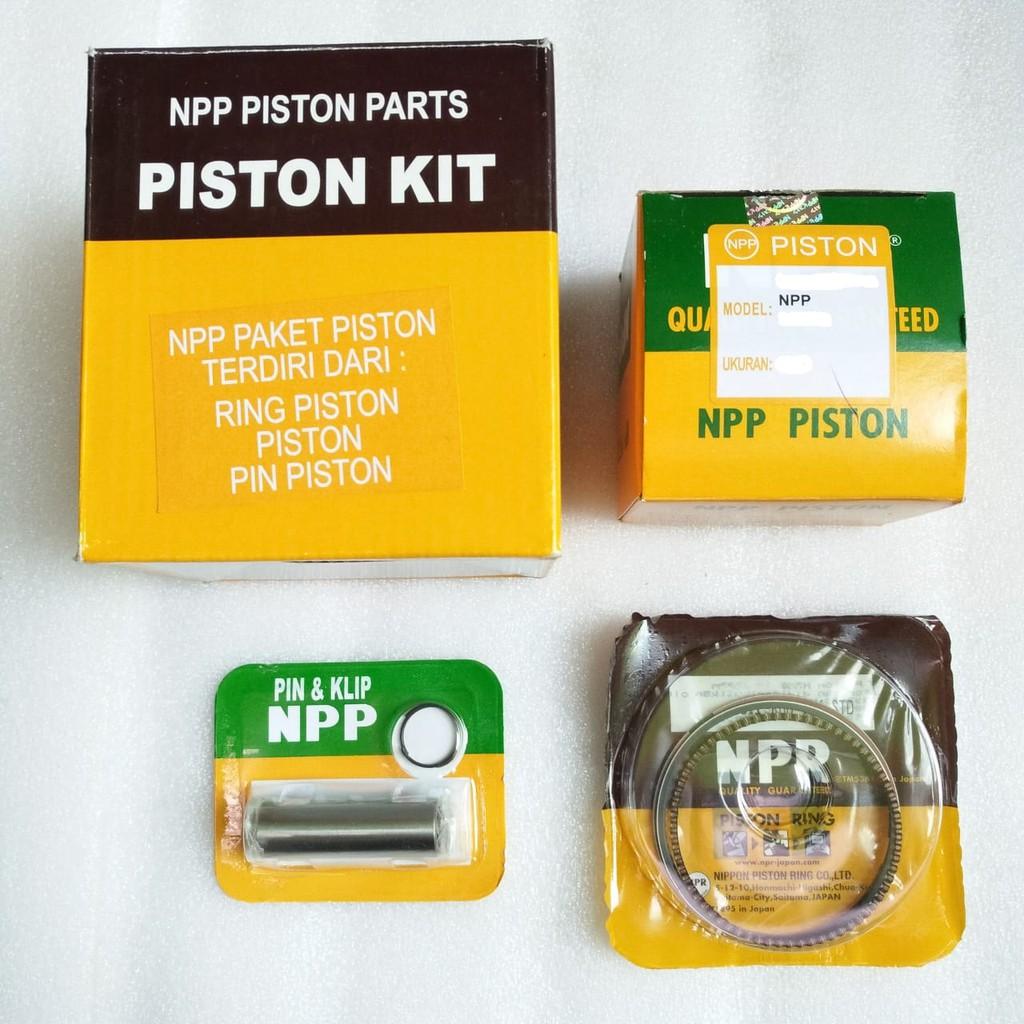Piston Kit Gl Pro Neotech Mega Lama Oversize 125 Komplit Karbu Fim Izumi Shopee Indonesia
