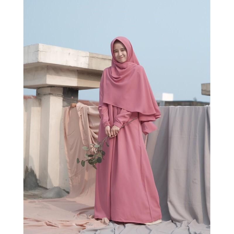 Gamis Ayumi Size L Dan Xl Hanya Gamis By Hijab Alila Shopee Indonesia
