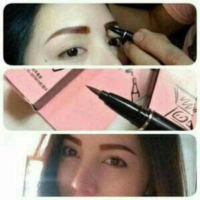 Gambar Monomola Alis Promo Eyebrow Tatto Monomola 7 Days Tato Seperti Sulam Alis Shopee Indonesia
