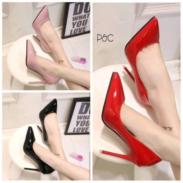 Belanja Online Sepatu Hak - Sepatu Wanita  5e4275941a
