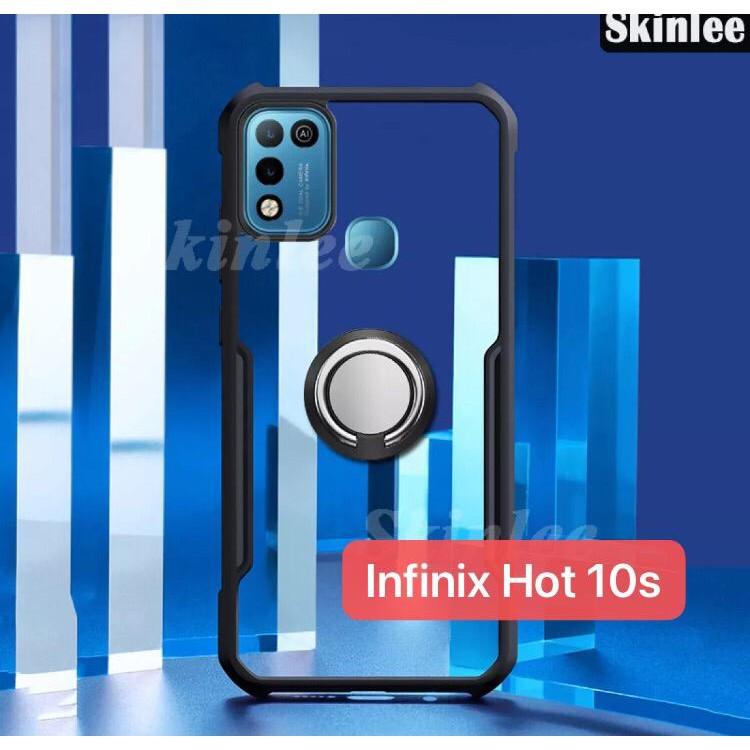 Case Infinix Hot 10s Silikon Hard Cover Casing Softcase Handphone