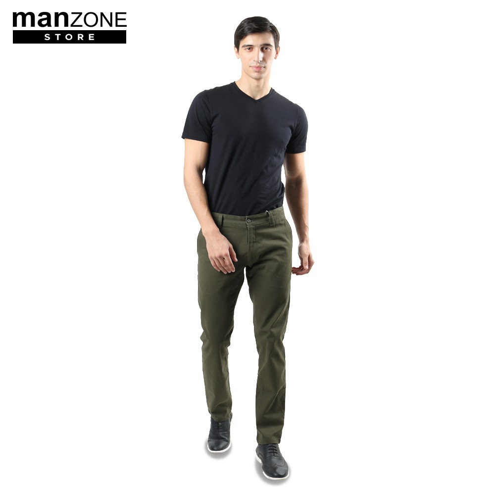 Manzone Wilshire Bestbuy Chino Pants Beige Shopee Indonesia Statement Blue Black Hitam 30