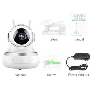 [Bayar Di Tempat]Kamera Pintar CCTV WI-FI Wireless HD Audio 1080P | Shopee Indonesia
