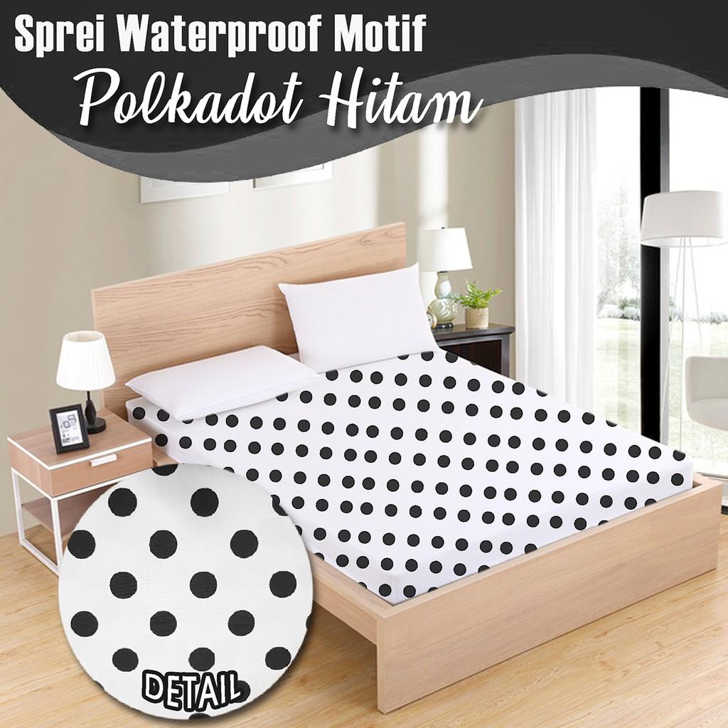 Sprei Polos Katun Hongkong 90/100/120/160/180x200 Tinggi 20cm   Shopee Indonesia