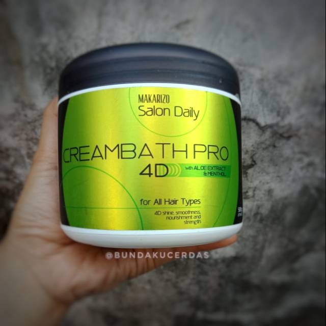 Makarizo Salon Daily Creambath Pro 4d Shopee Indonesia