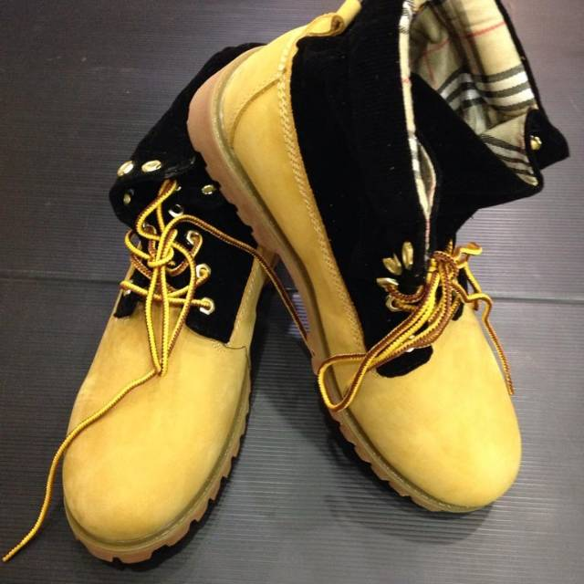 sepatu boots cowok timberland shoes sepatu import murah