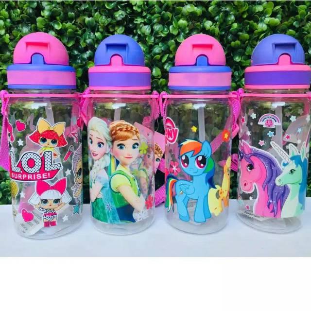 Botol Minum Anak Karakter Unicorn Kuda Poni Frozen Shopee Indonesia