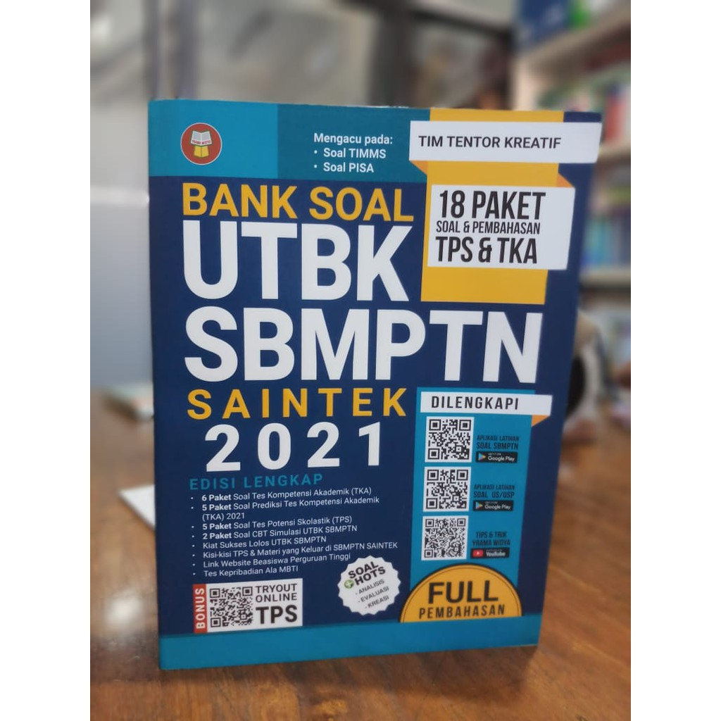 Buku Bank Soal Utbk Sbmptn Saintek 2021 Shopee Indonesia