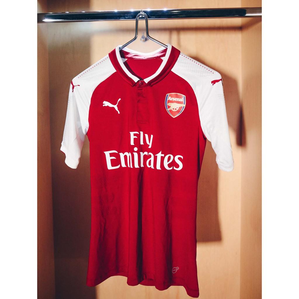 e926c86fa Jersey Baju Bola Arsenal Away 2017   2018 Grade Ori